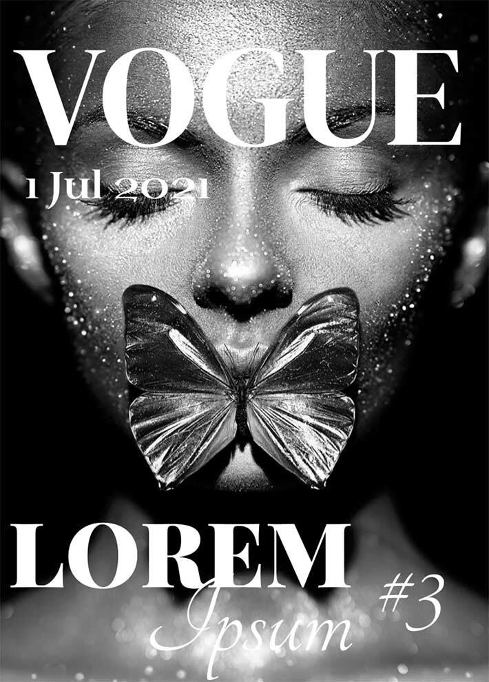 Creative Vogue Magazine Template for Google Docs