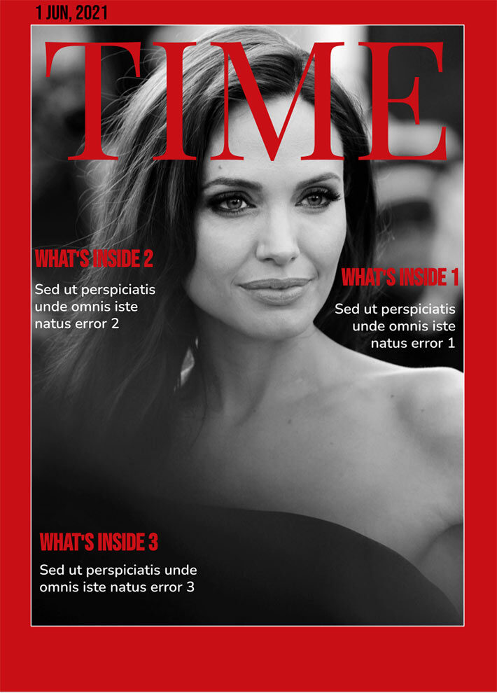 Time Magazine Template for Google Docs
