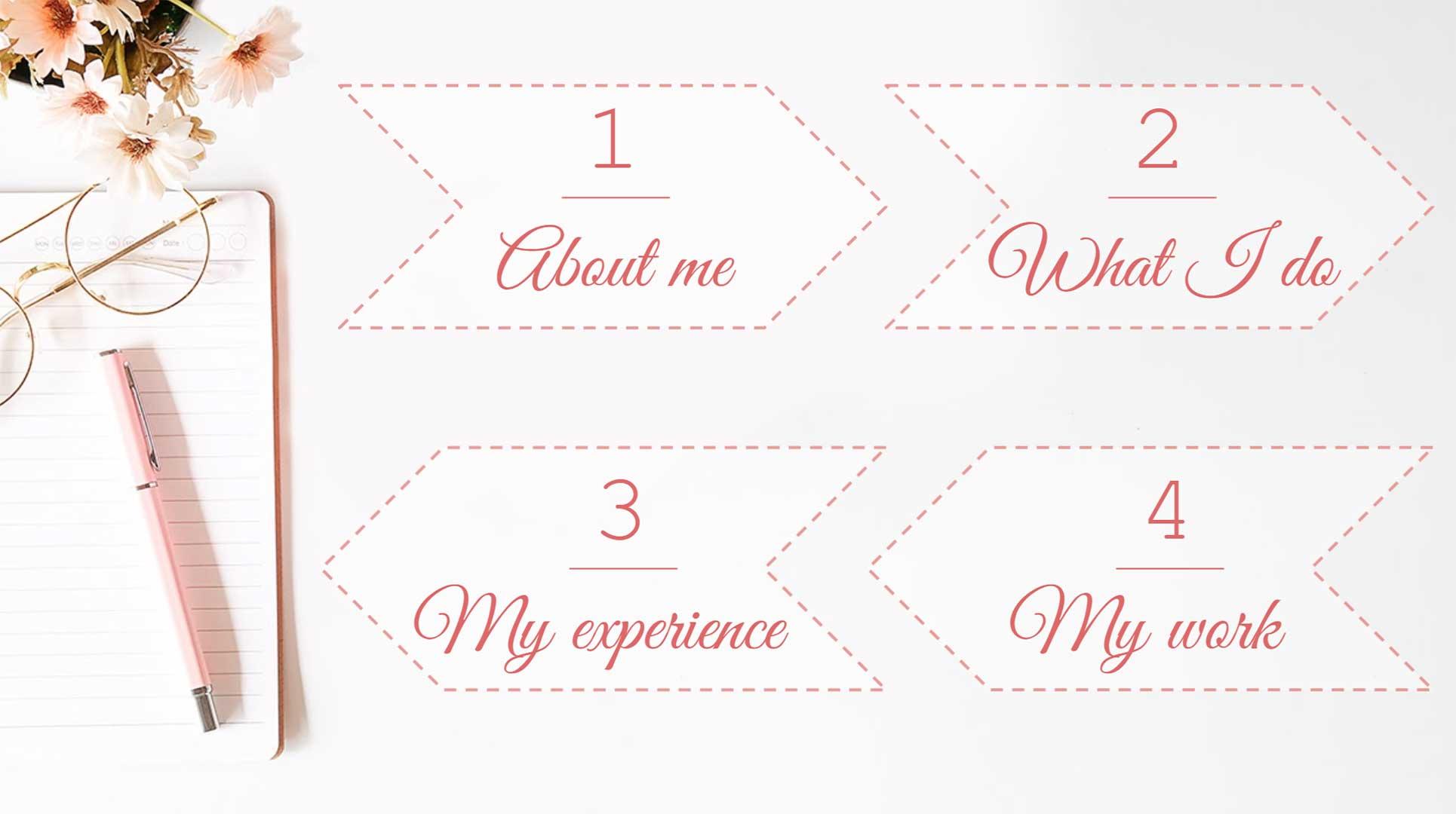 Designer Portfolio Page 2 Template for Google Slides