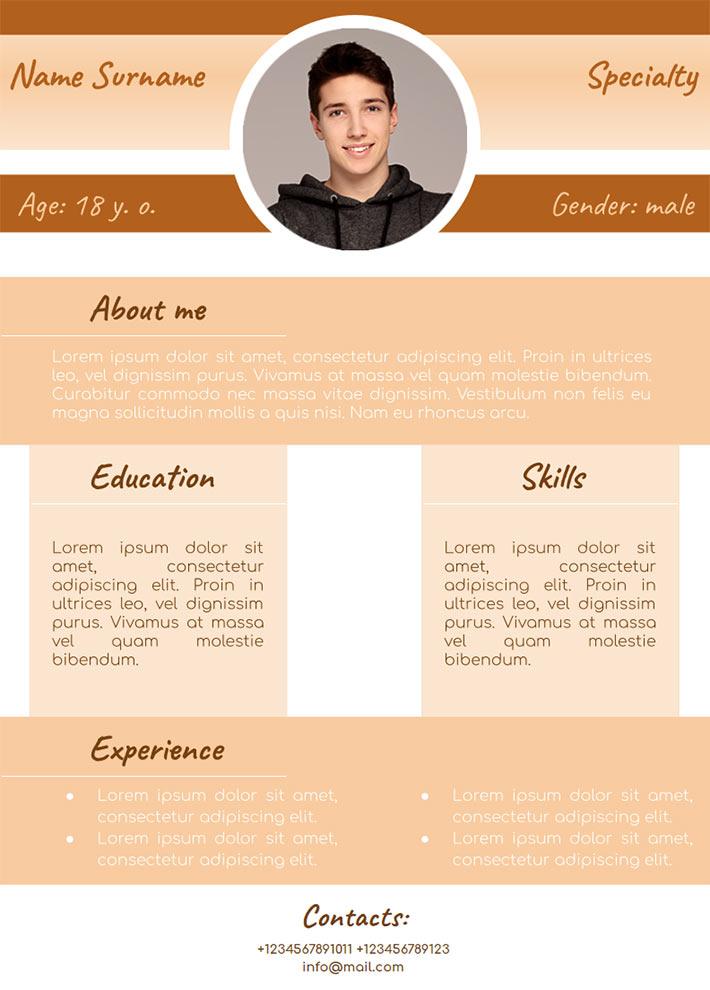 CV Template for Google Docs