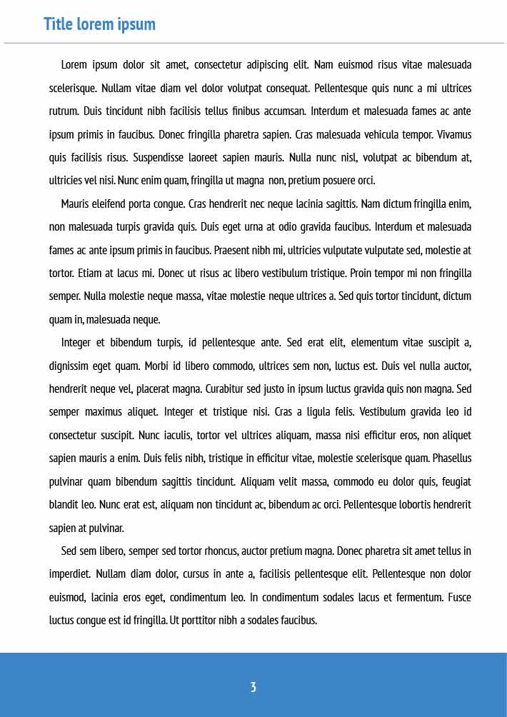 Non Fiction Book Page 3 Template for Google Docs